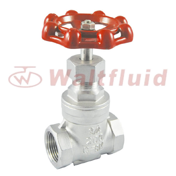Non-Rising Gate Valve Thread End 200WOG