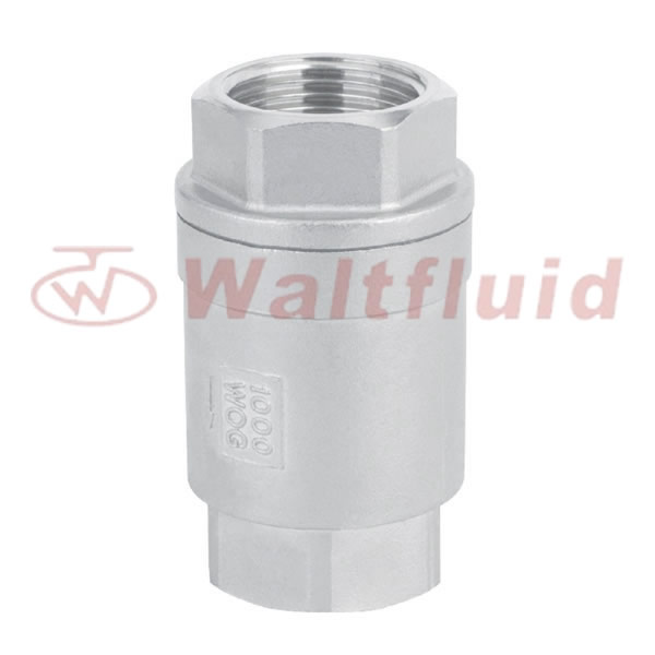 2-PC Vertical Check Valve 800WOG(PN40)