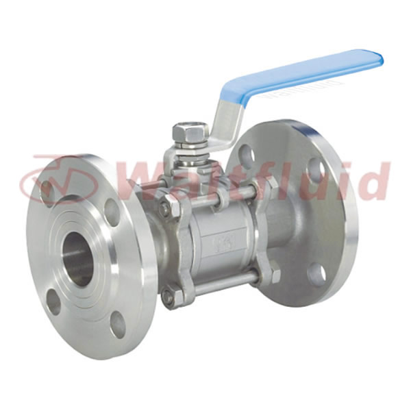 3-PC Ball Valve Flange End 150LB/PN40