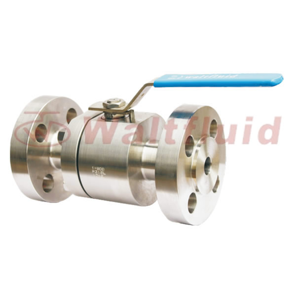 2-PC Forge Steel Ball Valve Full Port,Flange End