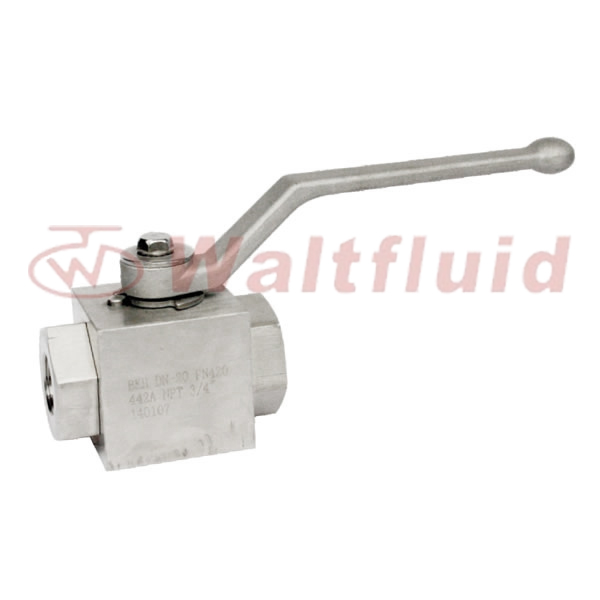 3-PC Forge Steel Ball Valve Full Port, 6000WOG(PN420)