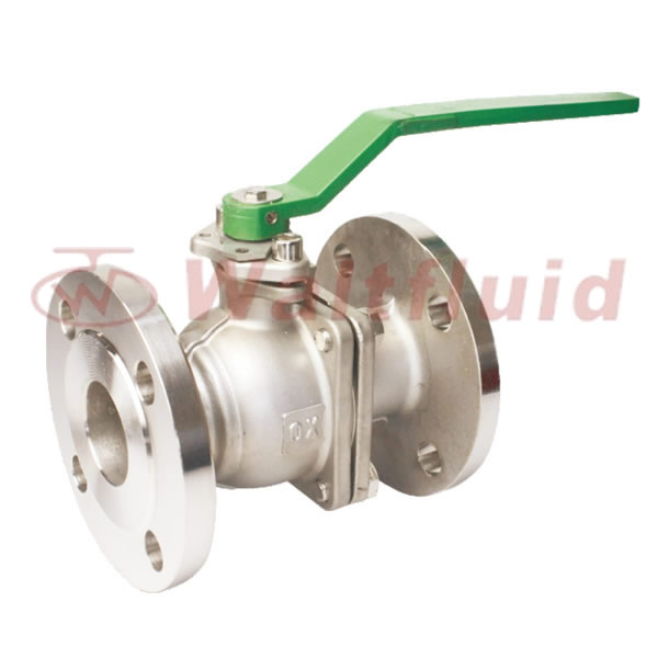 2-PC Stainless Steel Ball Valve Full Port,Flange End 10K